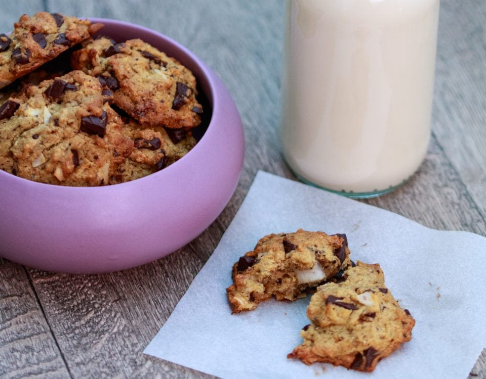 cookies au chocolat, chocolate chip cookies